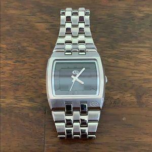 Rio Curl silver watch
